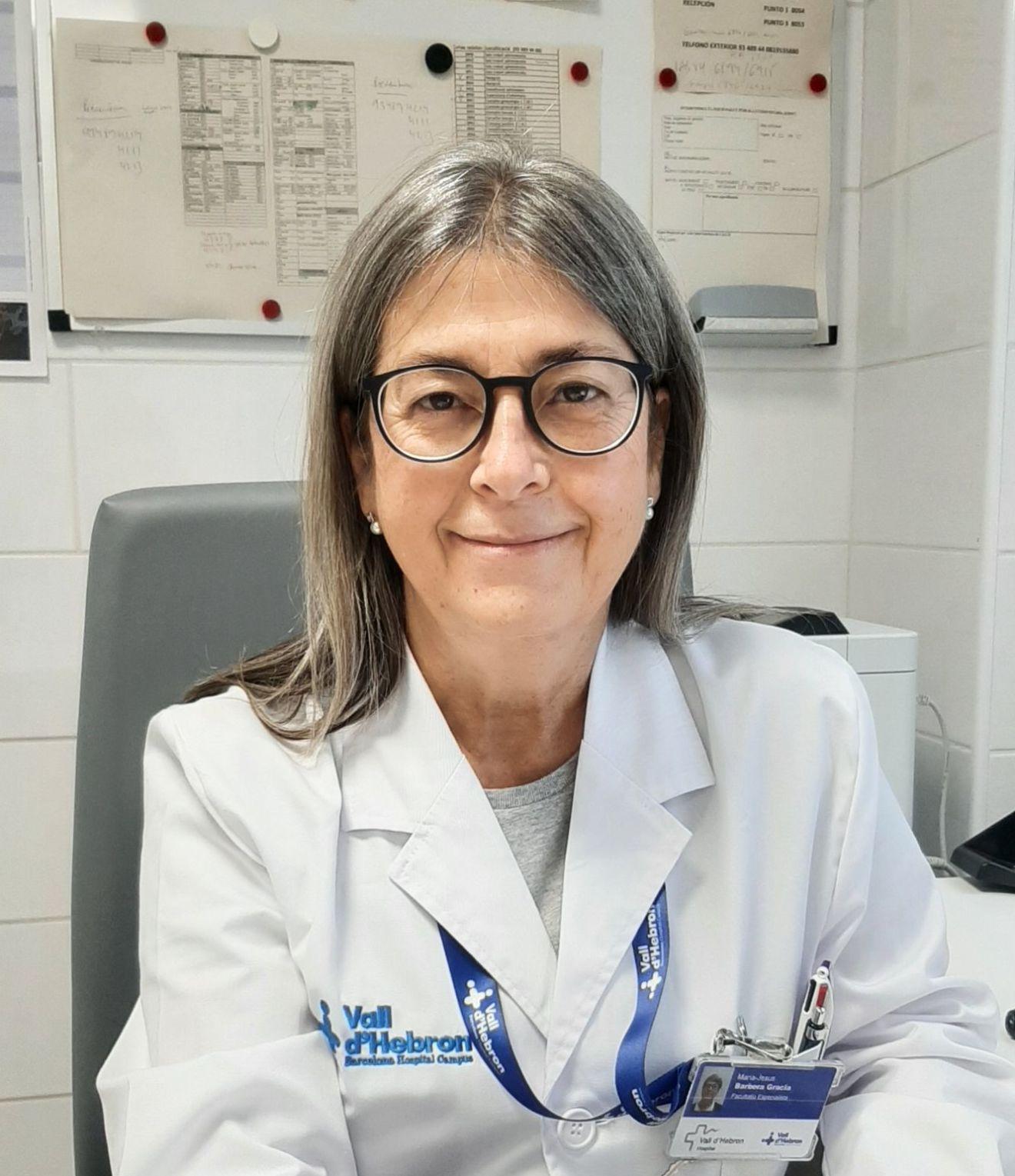 Entrevista a la Dra. María Jesús Barberá, coordinadora de la Unidad de ITS Drassanes-Vall d'Hebron